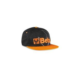 Flat visor cap
