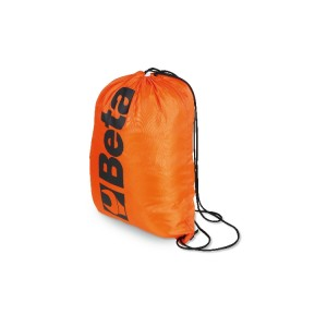 Rucksack with casing, made of waterproof 210D polyester, 33x45 cm