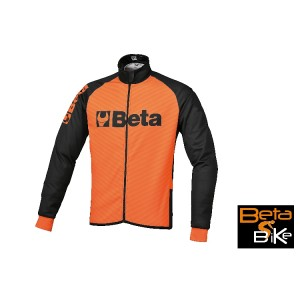 Winter jacket, made from highly breathable, winder breaker fabric and raised fabric;  long zip, silicone-free elastic waistband; close-fitting Lycra cuffs; refractive rear inserts; 3 exterior rear pockets, including 1 with zip