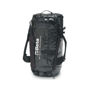 """""""Racing"""" bag, made from waterproof  PVC coated fabric"""