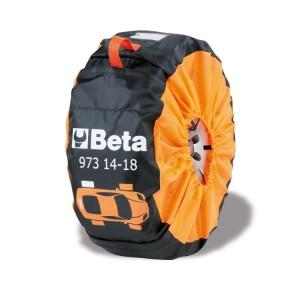Kit of 4 nylon wheel covers