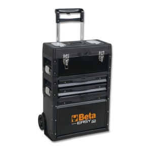 Three-module tool trolley