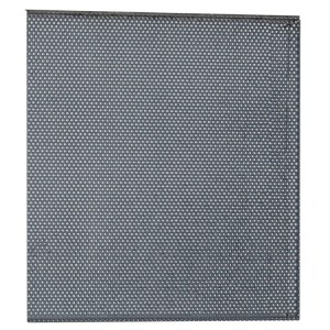 Perforated tool panel, for workshop equipment combination