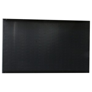 Perforated under-cabinet panel for workshop equipment combination, 1 m long