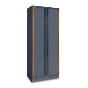 Sheet metal two-door tool cabinet, for workshop equipment combination RSC55