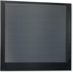 Self-supporting perforated panel, 1 m long, for workshop equipment combination
