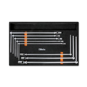 Soft thermoformed tray with tool assortment