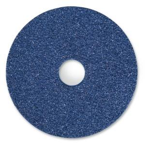 Fibre discs with zirconia cloth