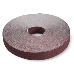 Anti-waste rolls made of corundum abrasive cloth