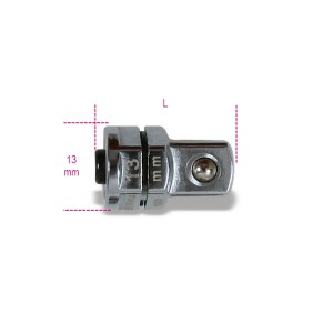 """Quick release adaptor, 3/8"""", for 13 mm ratcheting wrenches"""