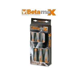 Set of 6 screwdrivers for Torx® head screws