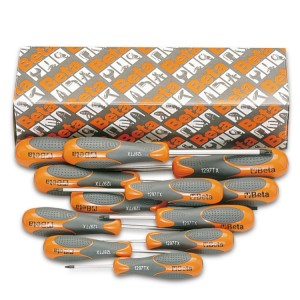 Set of 12 screwdrivers for Torx® head screws