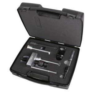 Tool assortment for removing injectors from Mercedes 2.1L, 2.2L, 3.0 V6 and Chrysler engines