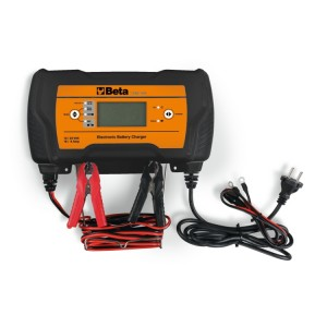 Electronic multipurpose battery charger, 12-24V
