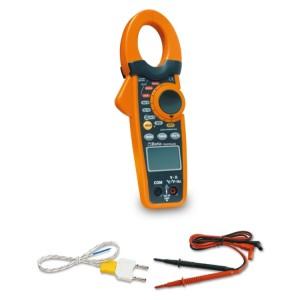 Amperometric clamp and digital multi-meter