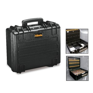 Hard cavity wall tool case, empty