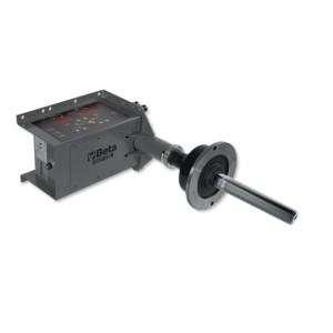Electronic hand-spin wheel balancer, portable