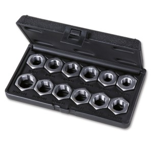 Tool assortment for repairing axle shaft threads