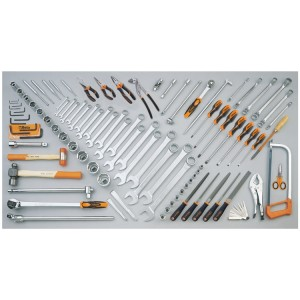Assortment of 99 tools for earth-moving machinery (CATERPILLAR)