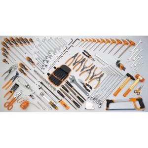 Assortment of 132 tools