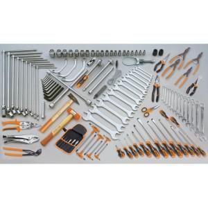 Assortment of 118 tools