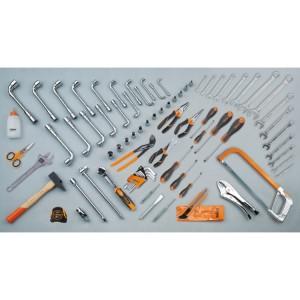 Assortment of 80 tools