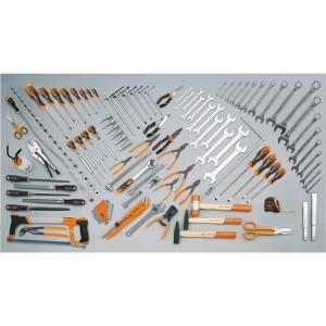 Assortment of 115 tools