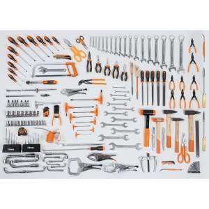 Assortment of 162 tools