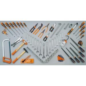 Assortment of 86 tools