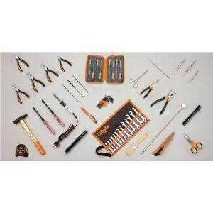 Assortment of 57 tools