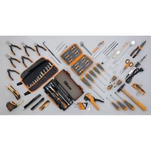 Assortment of 98 tools