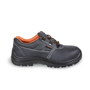 Leather shoe, water-repellent