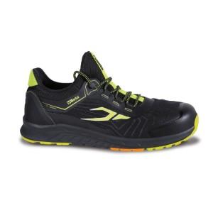 Mesh fabric shoe, waterproof, with TPU inserts