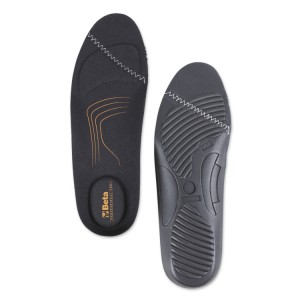 Anatomically shaped underfoot covers made of EVA foam,  with cushioning heel pad (spare part recommended for 0-Gravity footwear range)