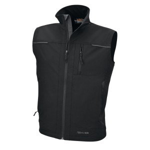 Sleeveless softshell jacket