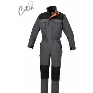 Work overalls, 100% stretch cotton, 220 g/m2 Slim fit