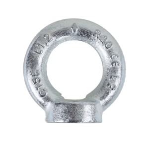 Lifting eye nuts, DIN 582 galvanized