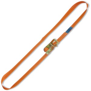 Ring ratchet tie down, LC 2000kg high-tenacity polyester (PES) belt
