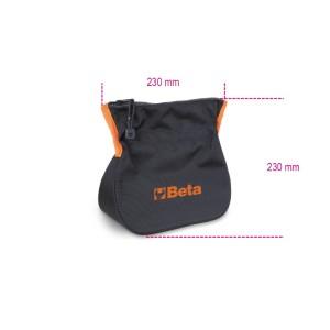 Tool bag with self-locking and zip closure