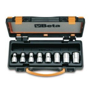 Set of hand sockets for Torx® head screws