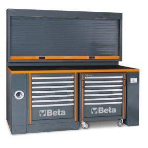 Workbench for workshop equipment combination