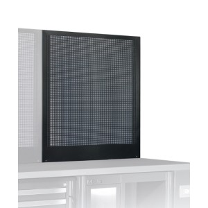 Self-supporting perforated panel, 0.8 m long, for workshop equipment combination