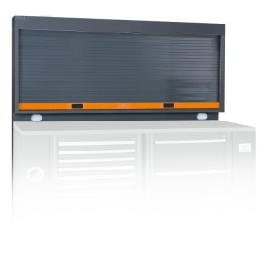 Tool wall system with shutter  accommodating 2 power sockets
