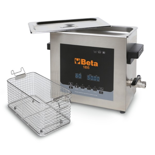 Ultrasonic cleaning tank, 6 l 1895 6 – Beta Tools