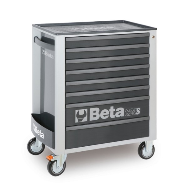 Mobile Roller Cab With Eight Drawers C24S/8 Beta Tools