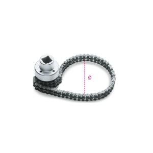 κλειδί με διπλή λεπτή αλυσίδα  για φίλτρο λαδιού
