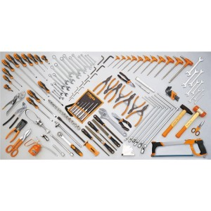 συλλογή με 132 εργαλεία