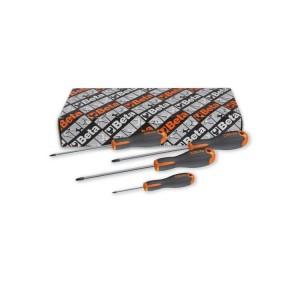 Σετ με 4 κατσαβίδια για βίδες με σταυρό Phillips®