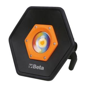 Επαναφορτιζόμενος προβολέας ΧΡΩΜΑΤΩΝ LED, για οπτικό έλεγχο χρώματος, δείκτης υψηλής απόδοσης χρώματος (CRI 96+), έως 2.000 lumens