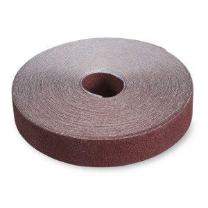 Rollos anti-derroche en tela abrasiva al corindón
